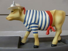 Figurine Vach'art - Cow Parade - Cow-dolier by Mark strings