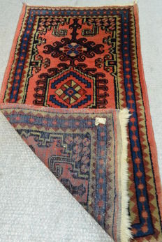 Beautiful Persian carpet, 90s, 114 x 62 cm Middle of the 20th century