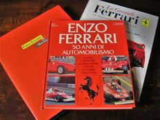 Three volumes about Ferrari, from 1983-2010-2015