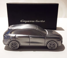 Porsche Cayenne Turbo, Limited Edition Model solid aluminium. Scale 1/43