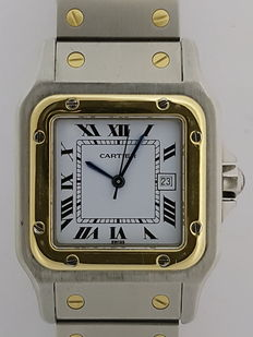 Cartier Santos - Unisex watch - Late 1980s