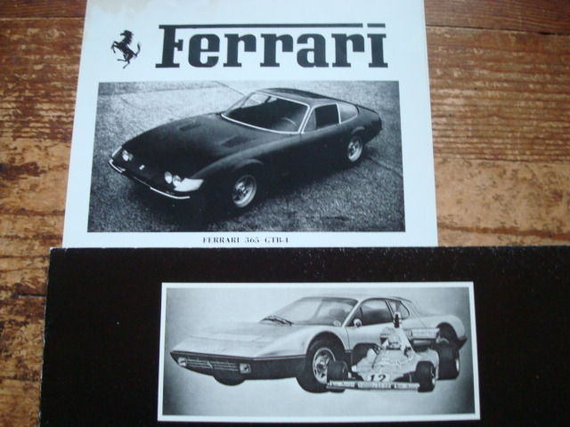 Ferrari dealer brochures