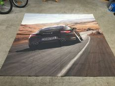 Porsche - Giant poster on canvas of the Porsche 997, phase 2 -193 x 193 cm