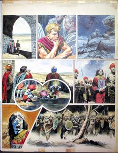 "Lawrence, Don - original plate - Trigan - ""The revenge of Darak"" - (1967)"