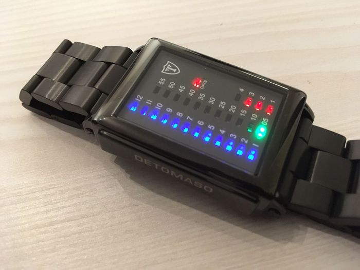 Detomaso Spacey Timeline - Wristwatch - 2016