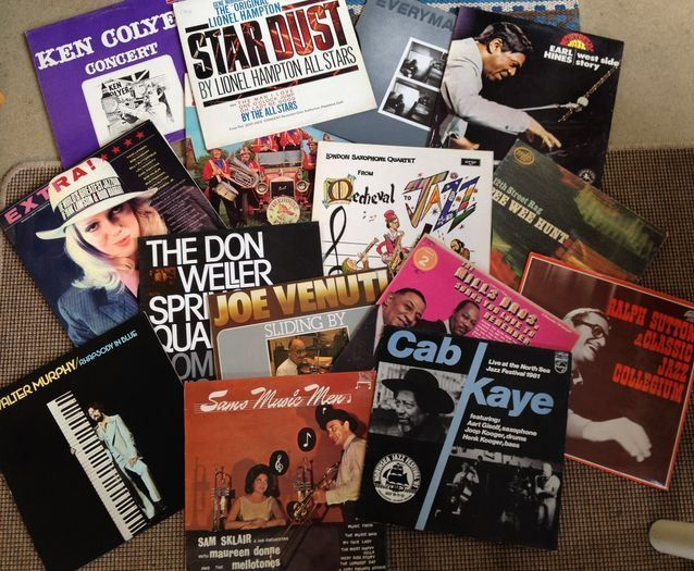Lot Of Fifteen ( 15 ) Jazz Records With a Very Great Variation Of Styles