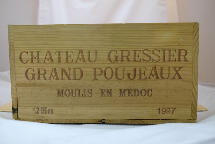 Chateau Gressier-Grand-Poujeaux, Moulis-En-Medoc, France, 1997 – 12 bottles in OWC