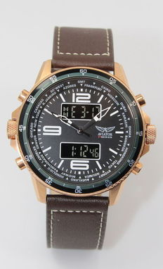 Aviator F Series  – Men's Analogue & Digital Pilot's Watch