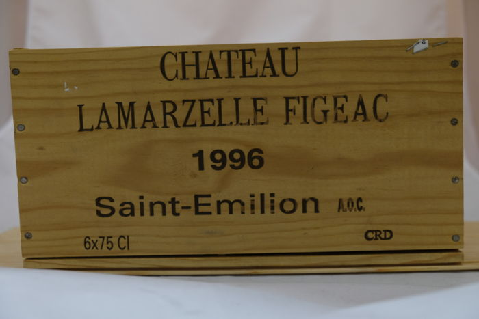 1996 Chateau Lamarzelle Figeac, Saint-Emilion, France – 6 bottles in OWC