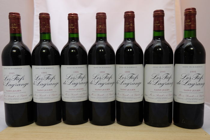 1996 Les Fiefs de Lagrange, Saint-Julien, France - 7 bottles.
