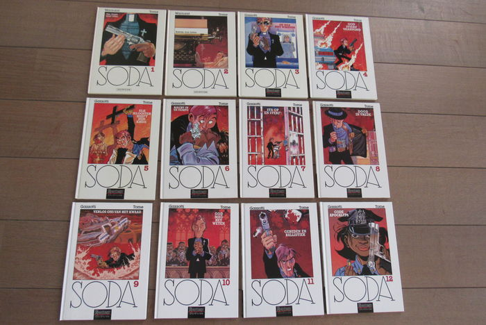 Soda 1-12 - hc - 1st edition (1987/2005)