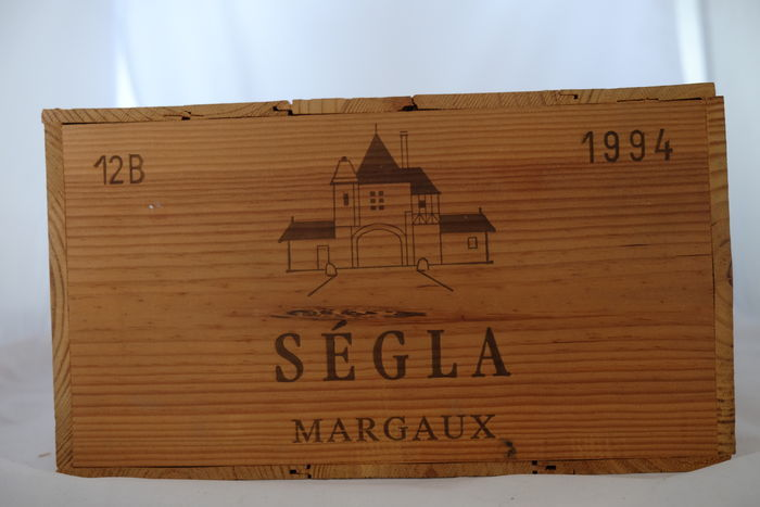 1994 Segla, Margaux, France- 12 bottles in OWC