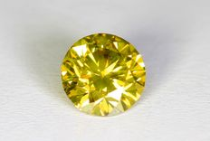 Gele Diamant - 0.31 ct