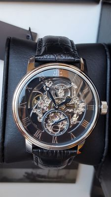 Thomas Earnshaw Westminster -Skeleton wristwatch  Mens