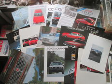 Car brochure (Toyota, including Celica/Corona/Crown/Cressida, 24x, 1977-1994)