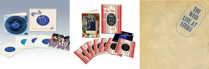 "The Who - 2 Vinyl 7""Collections - 2 Box sets"