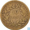 French colonies 10 centimes 1825