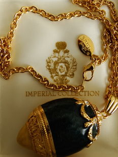 Imperial collection Tatiana Faberge - set with original box-Imperial collection