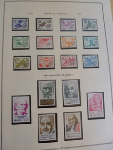 France 1960/2000 – Collection of stamps