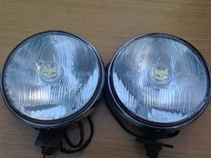 Marchal 889 Iead rally lights. 17 cm - 1960s