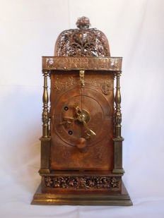 Newsagent table clock – early 1600s – Southern Germany