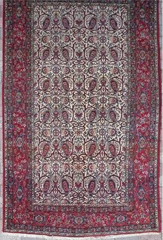 Isfahan Persian rug - dates from about 75 years ago