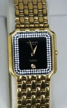 Raymond Weil  Geneve - 18Kt golg plated  Ladie's watch