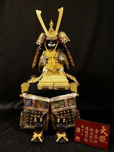 Samurai armour doll – Japan – 21st century