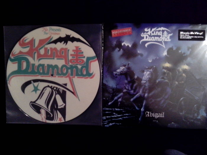 Lots of 4 Metal albums, King Diamond ‎– Abigail and No Presents For Christmas Picture Disc, Pantera ‎– History Of Hostility and Projects In The Jungle