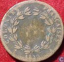 French colonies 5 centimes 1830