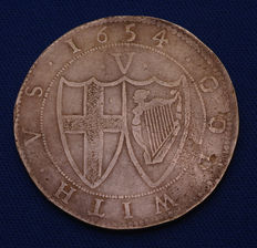 United Kingdom - Crown (Commonwealth) 1654 - silver