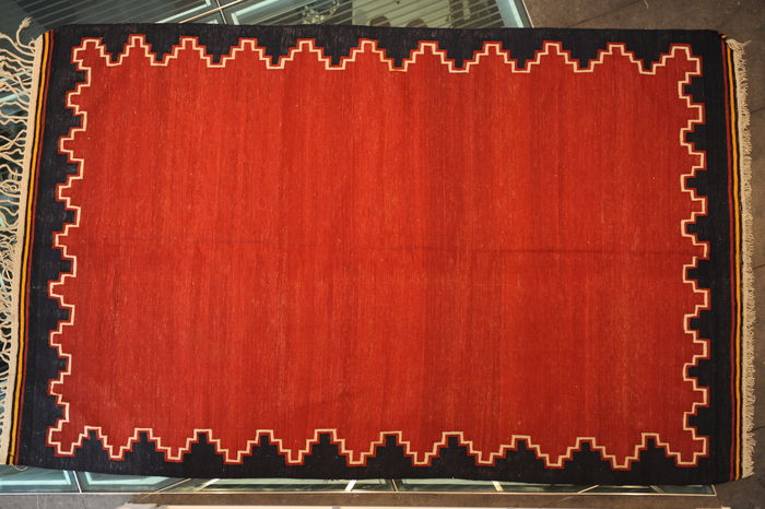 SEMI-ANTIQUE KILIM, Anatolia approx. 241 x 152 cm