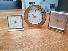 3 German clocks - Europe - 1950/60s