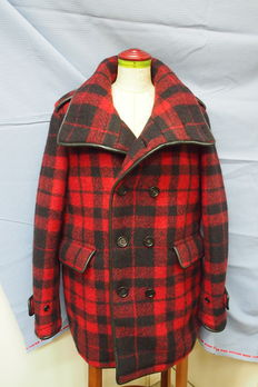 Burberry Prorsum - Plaid Peacoat
