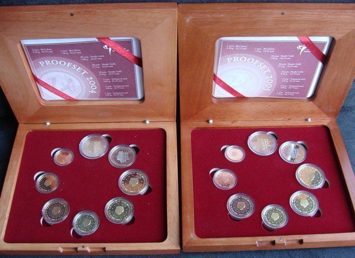 The Netherlands – Year packs (Proof), 2004 and 2005