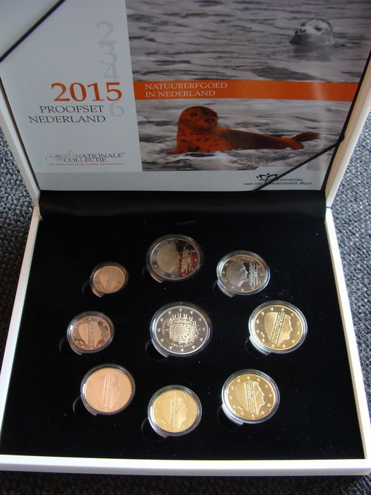 "The Netherlands – Year pack (proof) 2015 incl. €2 coin ""30 years of the European flag"""
