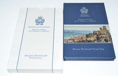 San Marino - year set 2014 including special 2 Euros.