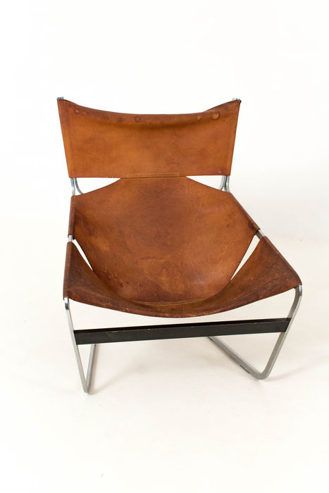 "Pierre Paulin for Artifort - Lounge Chair ""F444"""