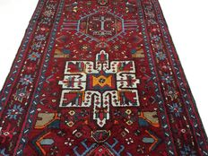 Persian carpet, Karadje runner, 360 x 90 cm, no reserve price, bidding starts at €1.