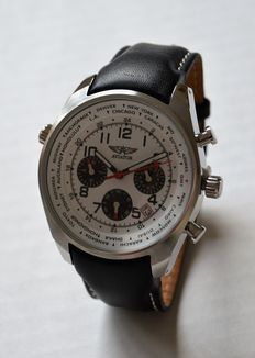 Aviator, F series, men's wristwatch