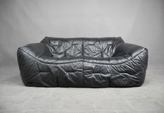 Hans Hopfer for Roche Bobois – Leather lounge sofa 'Informel'