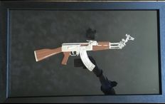 Ray Coster-AK47 Peace Edition Silver