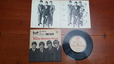 Second UK Christmas Beatles Fan Club record 1964 complete with insert. For members only.
