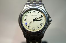 Cartier Panthere Cougar GM – Men's/unisex wristwatch – 1990s