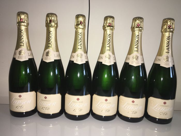 Champagne Lanson Ivory Label - 6 flessen (75cl)