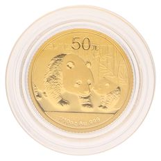 China – 50 Yuan 2011 'Panda' – 1/10 oz Gold