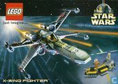 "Lego / Star Wars ""X-Wing Fighter"""