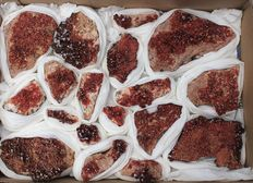 collection vanadinite - 3.5 x 3.1cm - 13.2 x 8.1cm - 3.3kg (19)
