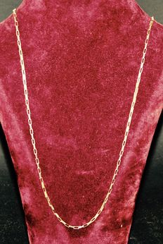 9k Solid Gold Necklace  english
