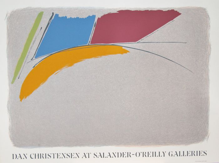 Dan Christensen at O'Reilly Galleries